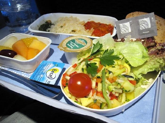 comida de aviao continental