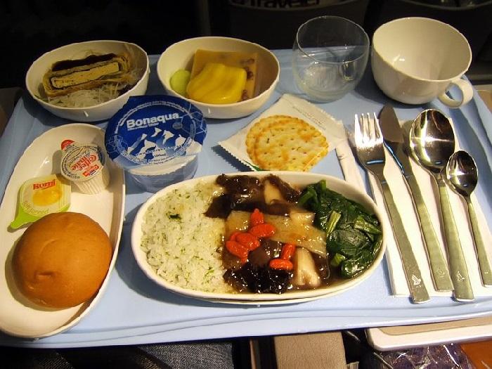 comida de aviao singapore