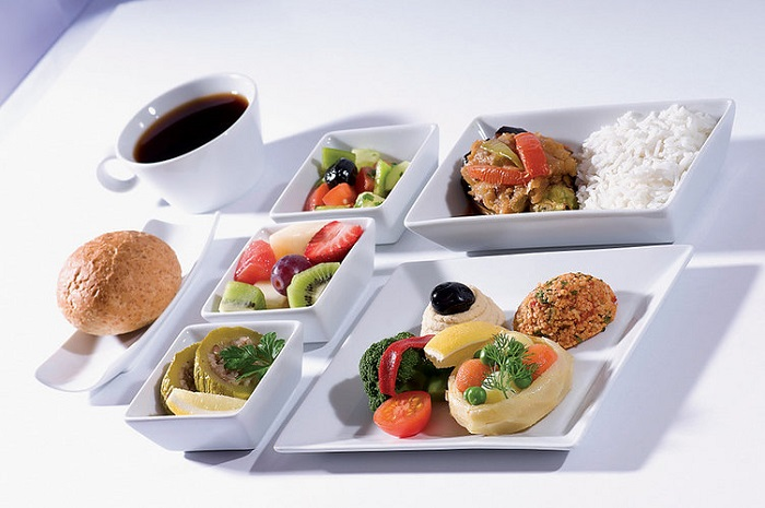 comida de aviao turkish